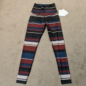 Beyond yoga XS striped legging
